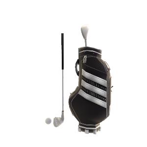 adidas Golf Bag & Club