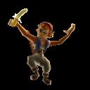Mono de pirata