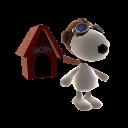 Snoopys Hundehütte