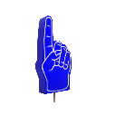 Giant Foam Finger Blue 