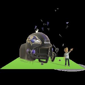 Ravens Inflatable Helmet