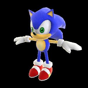 Peluche di Sonic