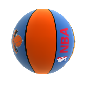 Balon de basketball New York