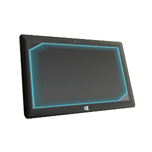 Spartan Assault Tablet Prop