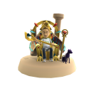 Gold Egyptian Throne