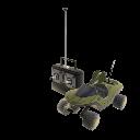 Vehículo RC Warthog de Halo