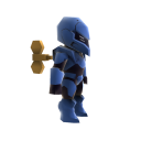 Mini Wind Up Soldier 