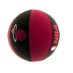 Balon de basketball Miami