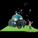 Eagles Inflatable Helmet