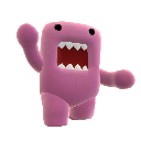 Pink Dancing Domo