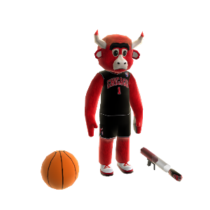 Mascotte Benny the Bull 