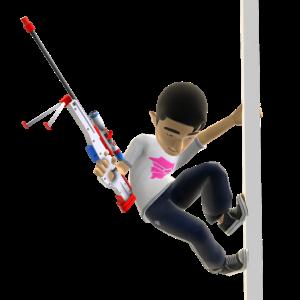 Toy Arctic Sniper Rifle
