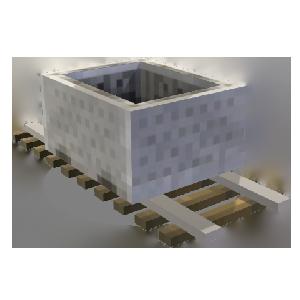 Minecraft Carrinho de Mineração