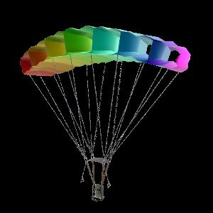 낙하산 장비