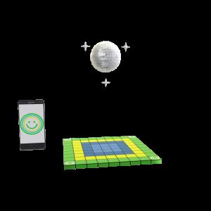 Cricket Wireless Disco Avatar Prop