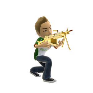 Toy LMG - Gold