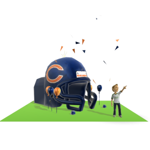 Bears Inflatable Helmet