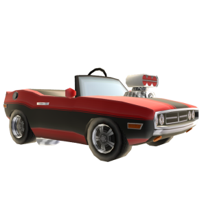 Muscle Car - Red