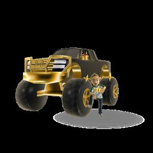 Bling Monster Truck