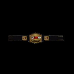 WWE 2K19 Championship Title