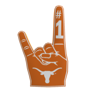 Texas Foam Finger