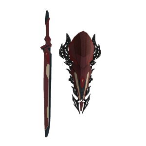 Lightning Sword and Shield