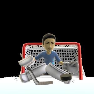 Goalie Pads - White