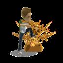 Gold Toy Gun Throne