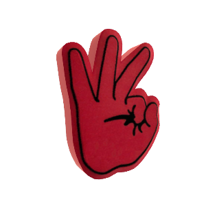 Verrry Tight Foam Hand