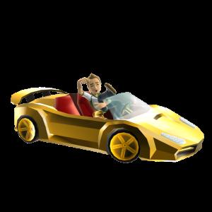 Bling Sports Car