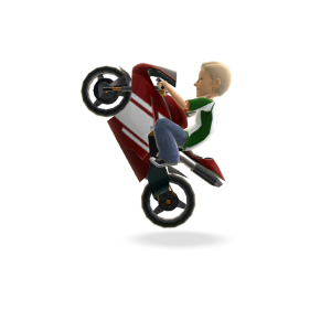 Motor Bike - Red Super