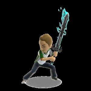 Demon Sword - Blue