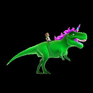 Rainbow Tyrannosaurus Rex