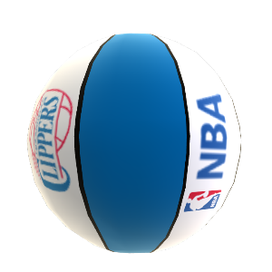 Pallone da basket LA Clippers