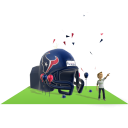Texans Inflatable Helmet