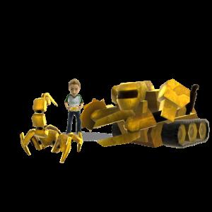 Golden Robot Combat