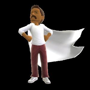 Super Cape - White
