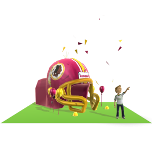 Redskins Inflatable Helmet
