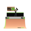 Dew Tour Half Pipe - Skate