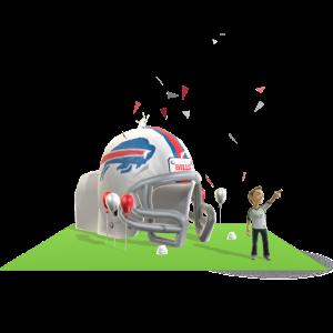 Bills Inflatable Helmet