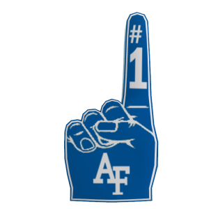 Air Force Foam Finger