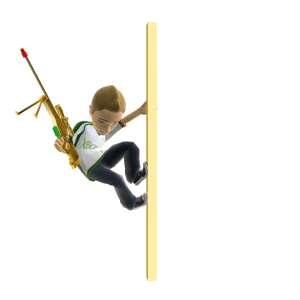 Toy Sniper Rifle - Gold