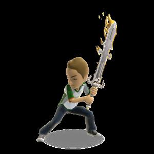 Demon Sword - Gold