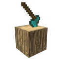 Minecraft Hache en diamant 