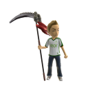 Toy Legendary Scythe Idle - Red