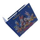 Livro de autgrafos Kinect Disneyland 
