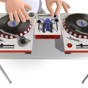 DJ Qbert Dual Turntables 