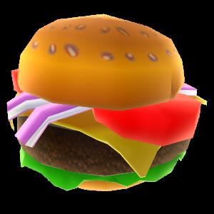 Bocado de hamburguesa