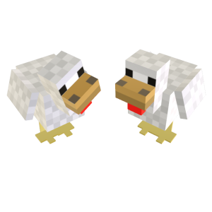 Minecraft Pet Chicken Prop