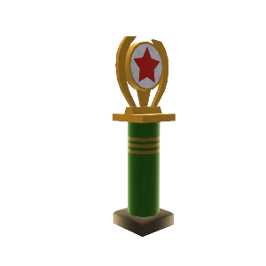 Stuntman of the Year Trophy